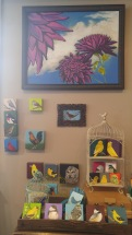some of the little bird paintings